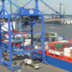 container wharf